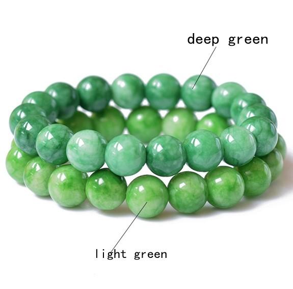 Green-Beads-font-b-Bracelet-b-font-Natural-font-b-Jade-b-font-font-b-Bracelets