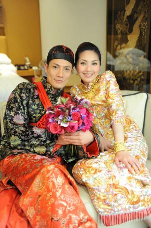 wedding dress in chinese style