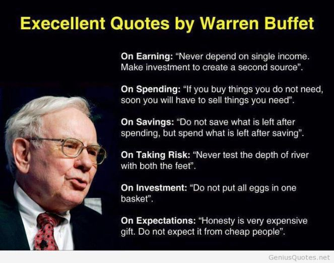 This quotes never be old-fashioned. It's life teaching about money