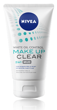 Review : Nivea Make Up Clear White Oil Control Mud