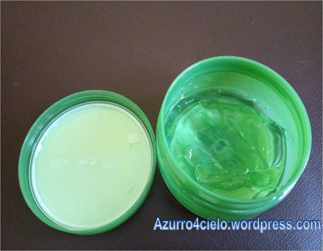Review The Saem 99 Jeju Fresh Aloe Soothing Gel Azurro4cielo Shooting As Seen I Have Used It Almost Half Jar